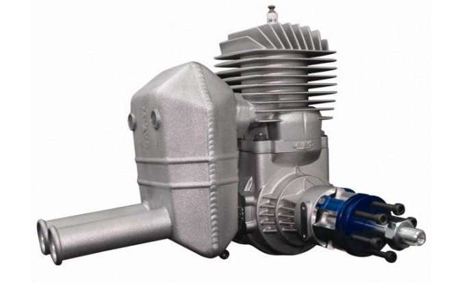 3207S - Kompaktní tlumič pro motor MVVS 58 cm3